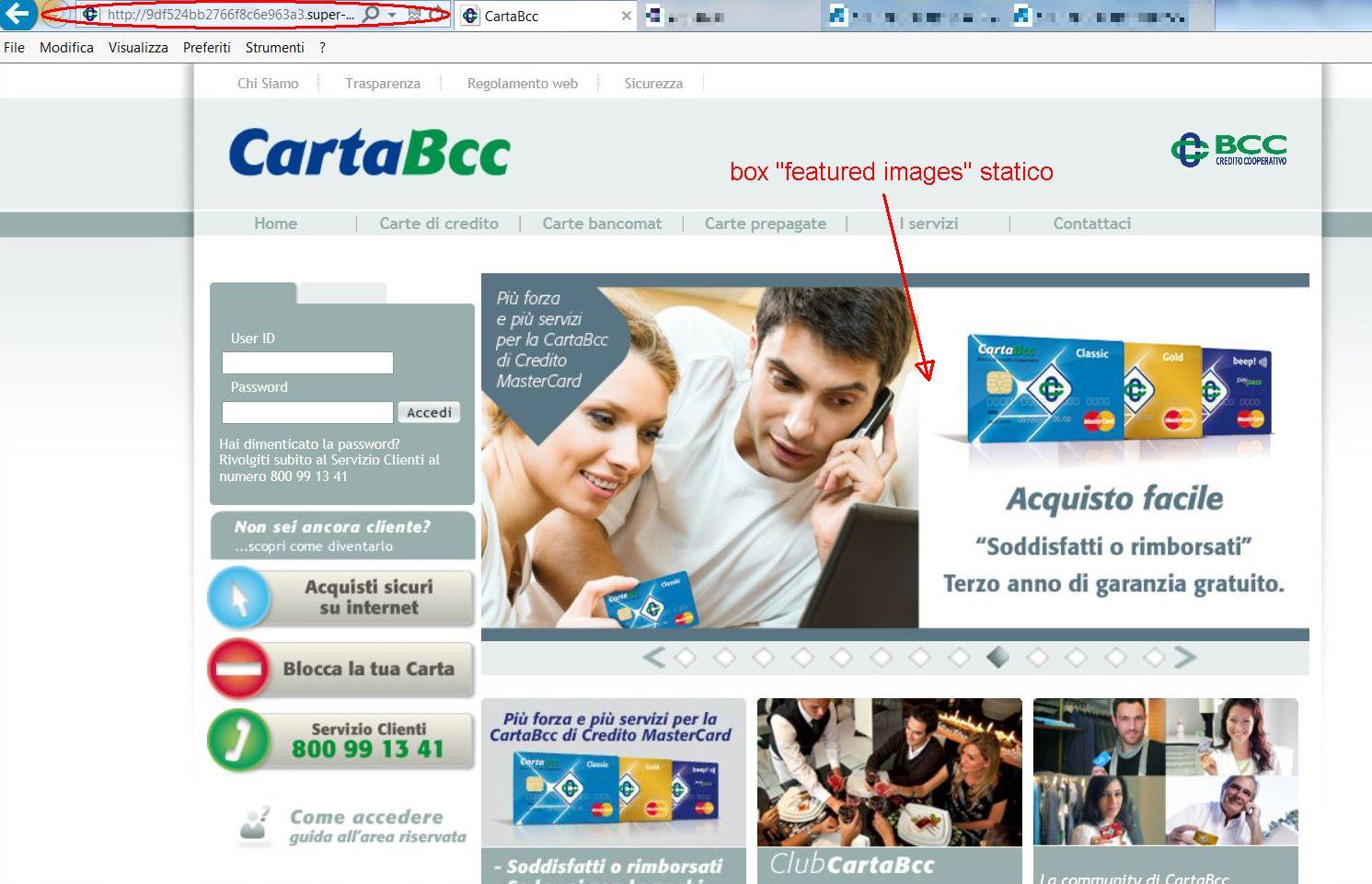 sito bcc phishing